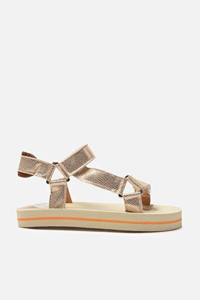 TRENDYOL SHOES Pudra Kadın Sandalet TAKSS21SD0028