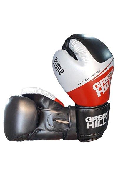Green Hill Prime Suni Deri Boks Ve Kick-boks Eldiveni Siyah 12 Oz. Bgp-2288