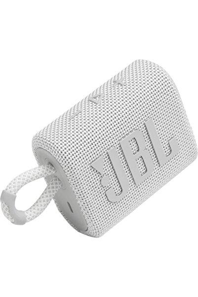 JBL Beyaz Go 3 Taşınabilir Bluetooth Hoparlör