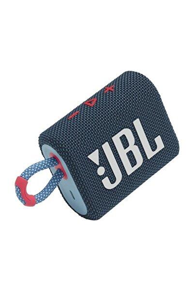 JBL Go 3 Taşınabilir Su Geçirmez Bluetooth Hoparlör /mavi Pembe