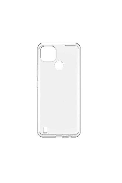 Oppo Realme Realme C21 Uyumlu Kılıf Şeffaf İnce ve Esnek Mükemmel Kalıp