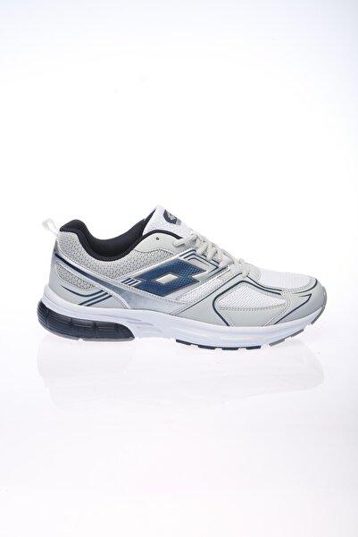 Lotto Koşu&yürüyüş Ayakkabı Erkek Beyaz/gümüş/lacivert-mendoza-t2661