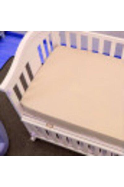 kalitem çarşafçı Lastikli Bebek Çarşafı 70x140 cm 7 Renk Krem