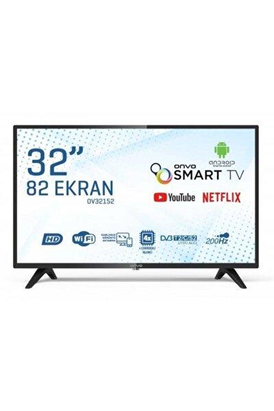 """ONVO OV32152 32"""" 82 Ekran Uydu Alıcılı HD Ready Smart LED TV"""