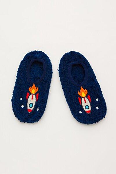 Penti Mavi Erkek Çocuk Rocket Patik Çorap