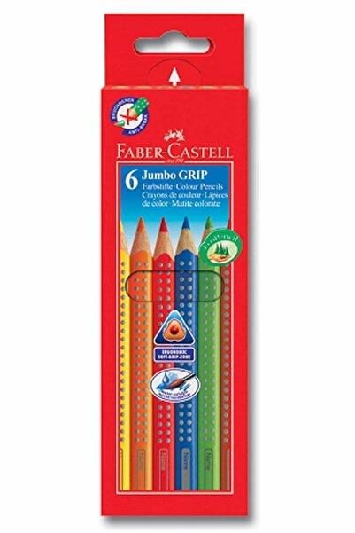 Faber Castell 6 Renk Jumbo Grip Kuru Boya