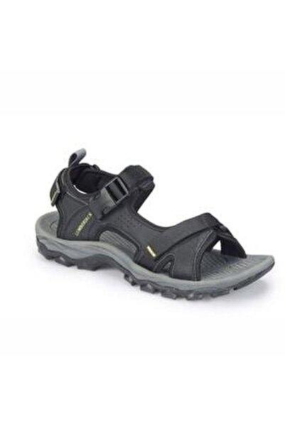 Erkek Siyah Laggun Comfort Casual Outdoor Spor Sandaleti