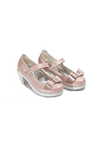 Kid's World Kız Çocuk Pembe Topuklu Ayakkabı