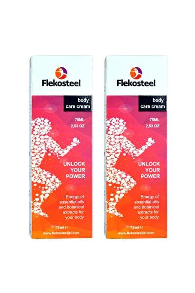 FLEKOSTEEL Krem 75 ml Orjinal Bandrollü Ürün 2 Adet