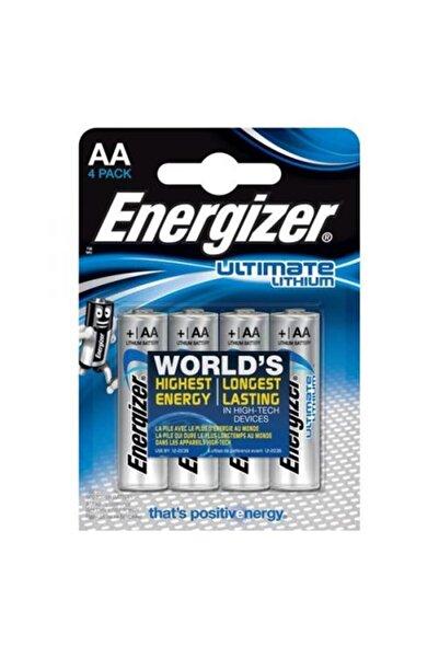 Energizer Ultimate Lityum Aa Kalem Pil 4lü Ambalaj
