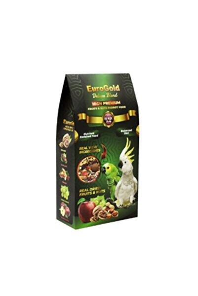 EuroGold Deluxe Fruits&nuts Papağan Yemi 650 gr
