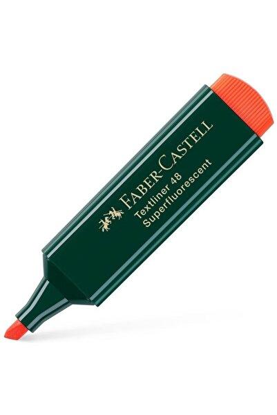 Faber Castell Fosforlu Kalem Renk Çeşitleri Turuncu