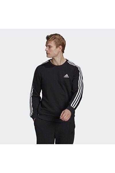 adidas M 3S FT SWT Siyah Erkek Sweatshirt 101079853