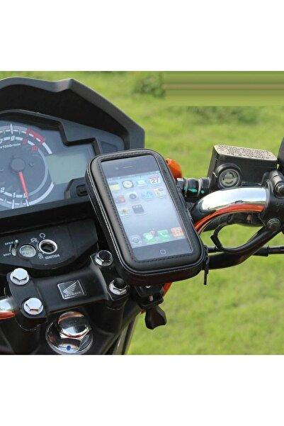 Kafe ss Sweet Smile Iphone 12 Pro Motor Bisiklet Atv Cep Telefonu Tutucu Su Geçirmez Kılıf