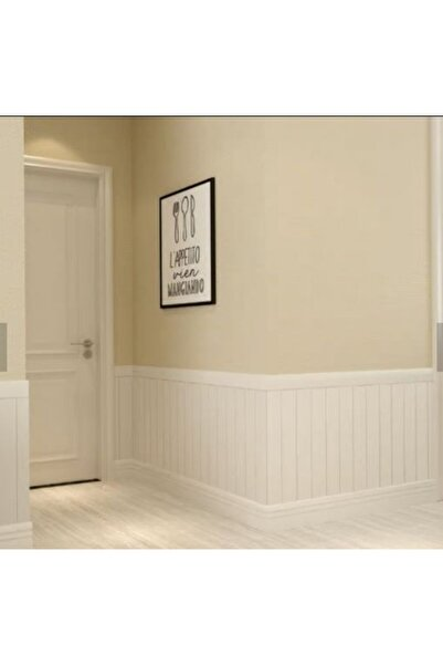 Renkli Duvarlar Beyaz Lambiri 3d Kendinden Yapışkanlı Duvar Kağıdı Duvar Paneli