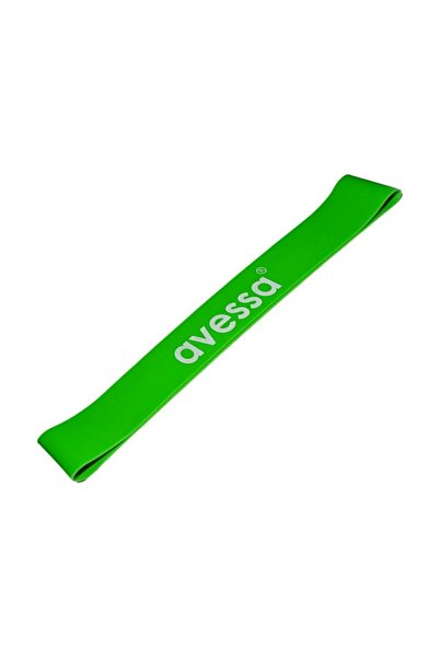 AVESSA Latex Aerobik Band Orta Sertlik Yeşil Renk Lab 20