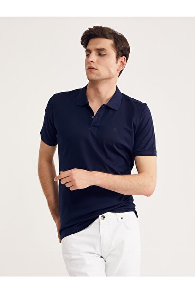Bisse 60/2 Düz Pike Boyama Polo Yaka Tshirt