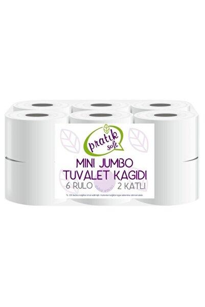 Pratiksoft Mini Jumbo Tuvalet Kağıdı 12 Rulo