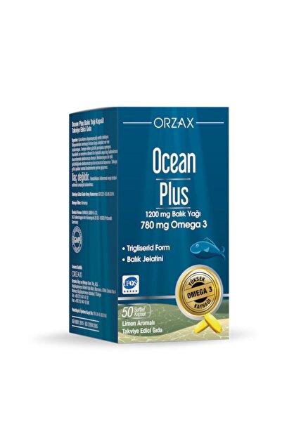 Ocean Plus 1200 mg Omega3 Balık Yağı 50 Kapsül