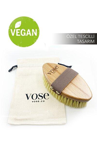 Vose %100 Doğal Vegan Selülit Fırçası (Kaktüs Kılı)