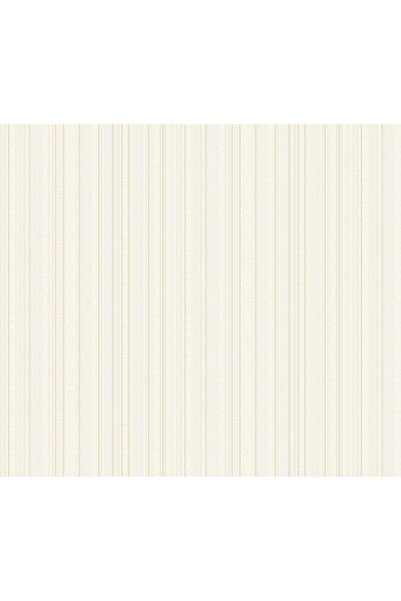 Adawall Duvar Kağıdı Krem Çizgili Modern Desen Rulo Ebatı 10,6 M2 (wallpaper)