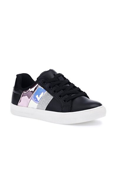 SEVENTEEN Rachel 1pr Siyah Kız Çocuk Sneaker