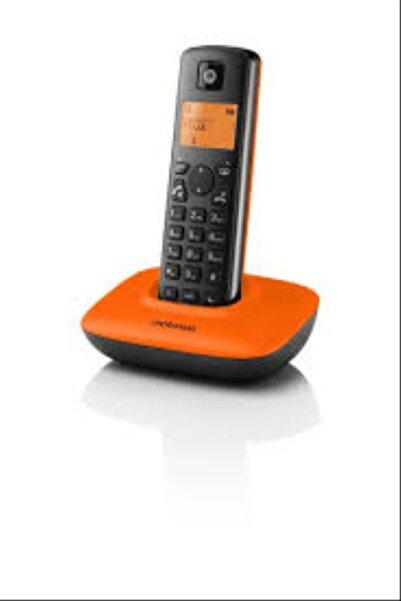 Motorola T401+ Handsfree Dect Telsiz Telefon Turuncu Siyah