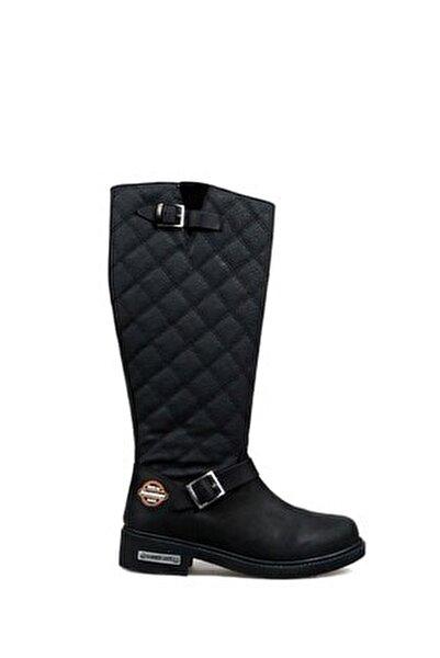 Kadın Siyah Çizme (10215935-ZSIY)