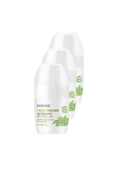 Farmasi Fresh Nature Refreshing Kadın Rollon 50ml x Üç Adet