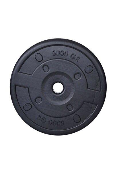 Aydın Sport 5 Kg Dambıl Ağırlık Plakası Siyah Renkli