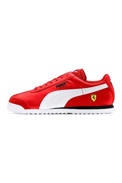 Puma Erkek Kırmızı Ferrari Roma Spor Ayakkabı