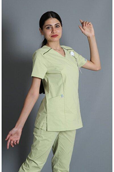almesta Likralı Doktor Hemşire Cerrahi Üniforma Takım