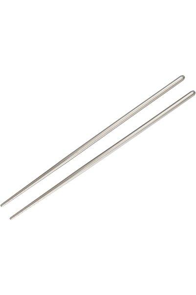 OEM Metal Paslanmaz Çelik Chopstick Çin Çubuğu