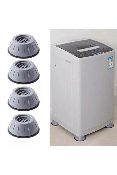 ARSTİC 4 Adet Çamaşır Makinesi Titreşim Önleyici Kaydırmaz Vantuzlu Stoper Set