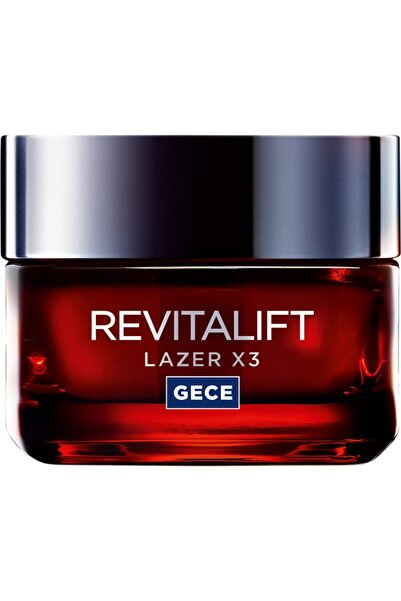 L'Oreal Paris L'oréal Paris Revitalift Lazer x3 Yoğun Yaşlanma Karşıtı Gece Bakım Kremi