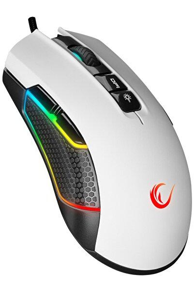 Rampage Smx-r600 Python Usb Beyaz Sağ / Sol El Kullanımlı 12400dpi Gaming Oyuncu Mouse