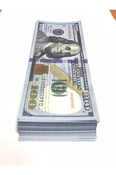 Noname 100 Adet 100 Dolar Geçersiz Sahte Düğün Parası Oyun Parası 100x100 Dolar