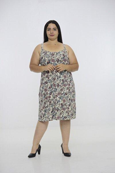 Truva XXL Büyük Beden Kadın Giyim Elbise