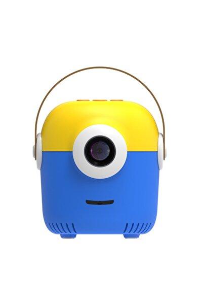 Mioji P1 Çocuk Projeksiyon Cihazı Mavi