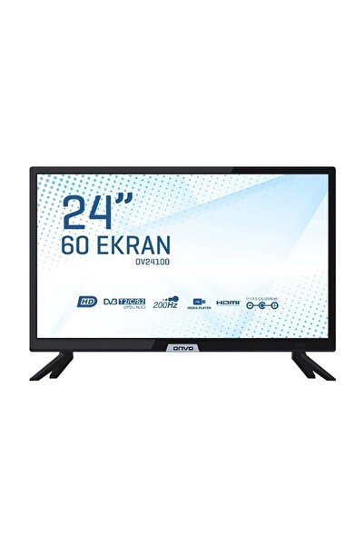 """ONVO OV24100 24"""" 61 Ekran Uydu Alıcılı HD Ready LED TV"""