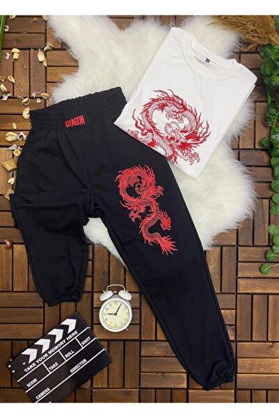 Lege Butik Dragon Kırmızı Eşofman Takımı