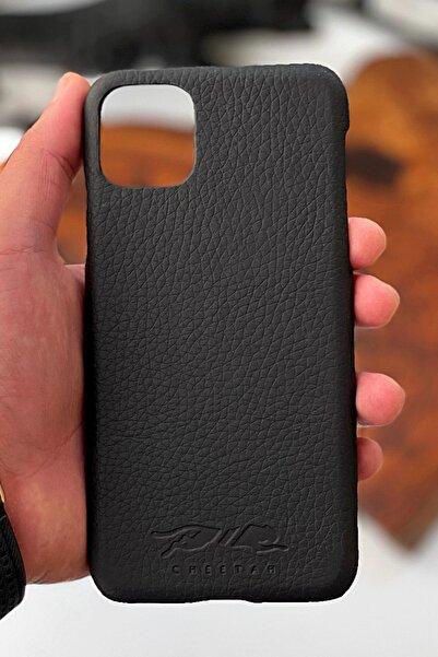 cheetah quality Iphone 11 Pro Max Hakiki Deri Telefon Kılıfı