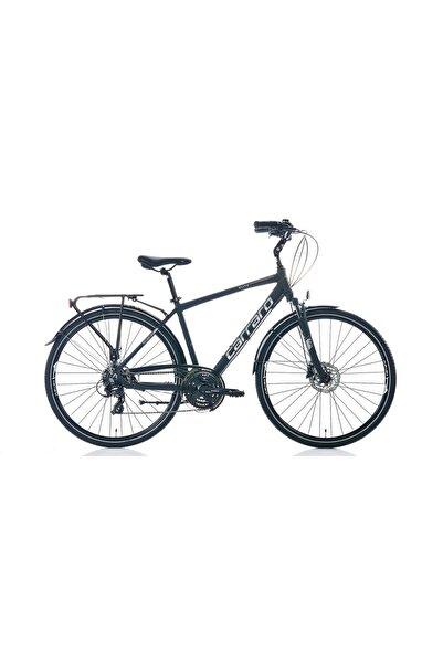 Carraro Elite 706 28 Quot; Jant Hidrolik Disk Fren 21 Vites Şehir Bisikleti Mat Siyah Gri Krom 48cm