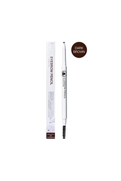 Depend Kaş Kalemi Ince Koyu Kahverengi Eyebrow Pencıl Slım & Thın Dark Brown - 4912
