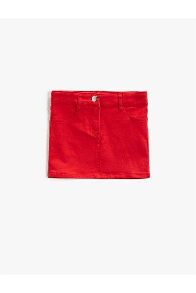 Koton Kız Çocuk Kırmızı Skırts