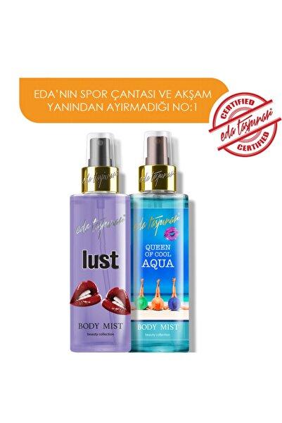 Eda Taşpınar 2 Farklı Body Mist 200ml. - Queen Of Cool Aqua Lust