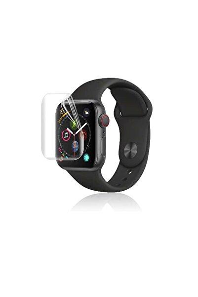 Apple Watch 2 3 4 5 6 Se Nike 44mm Uyumlu Ekran Koruyucu Full Yapışkanlı Yumuşak Nano Esnek Jelatin