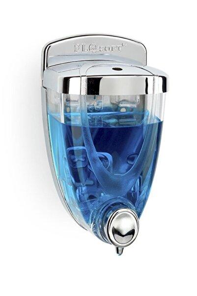 Flosoft 350 ml Krom Görünümlü Sıvı Sabunluk