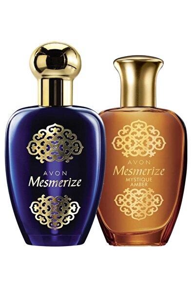AVON Mesmerize Ve Mesmerize Mystique Amber Kadın Parfüm Paketi