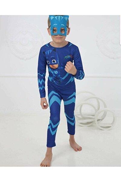 pijama moda Pijamaskeliler Kedi Çocuk Kostümü Pj Maskeliler Pjmask Kostüm Maskeli